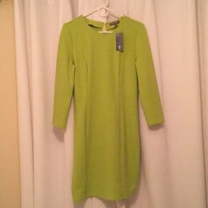 Lime Green Sheath Dress